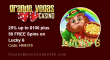 Grande Vegas Casino 25% up to $100 plus 50 FREE RTG Lucky 6 Spins Special Promo