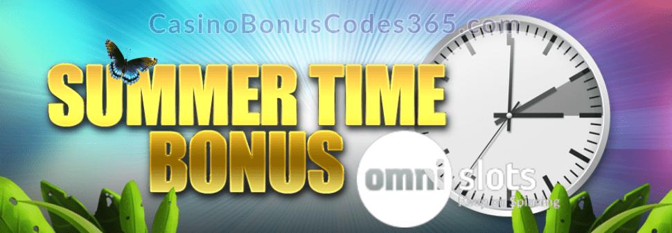 Omni Slots Summer Time Bonus