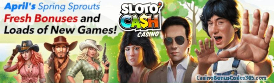 SlotoCash Casino Fresh Bonus Monthly Pack
