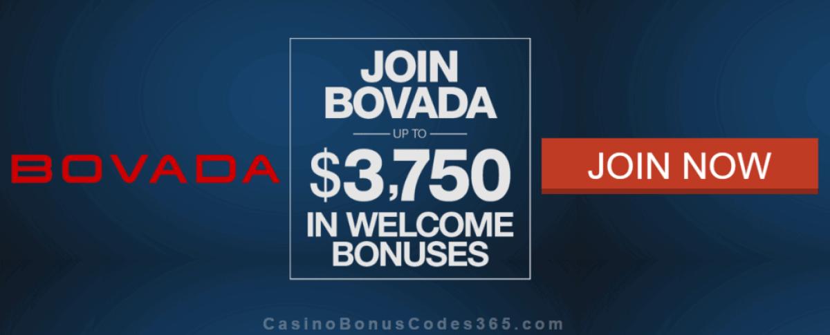Bovada Casino $3750 Multichannel Welcome Bonus
