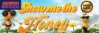 Jackpot Wheel 70 FREE Show me the Honey Spins plus 220% Match New Saucify Game Special Promo
