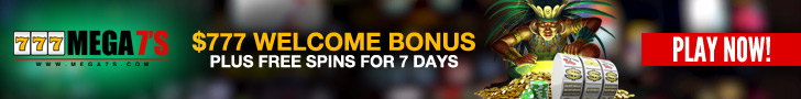 Mega7s Casino $777 Welcome Bonus