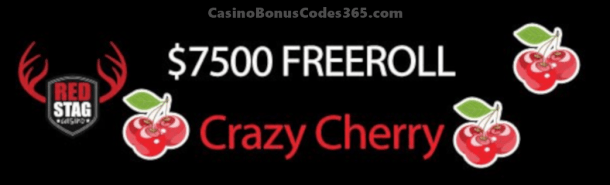 Red Stag Casino WGS Bad Bunny Freeroll $7500 FREEroll