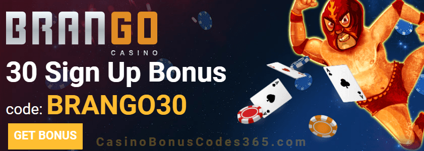 Casino Brango $30 Sign Up FREE Chip