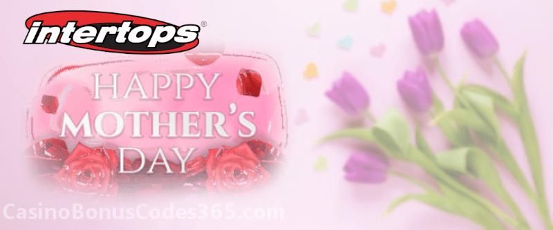 Intertops Casino Red Mother's Day Bonus Flowers