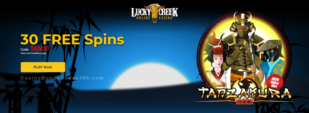 Lucky Creek Saucify Gems n Jewels 30 No Deposit FREE Spins Jne Special Promo