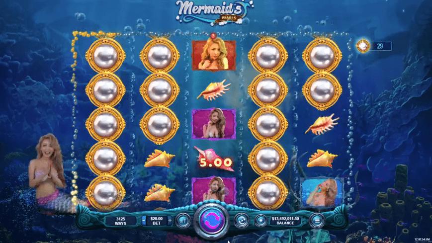 True Blue Casino RTG Marmaids Pearl