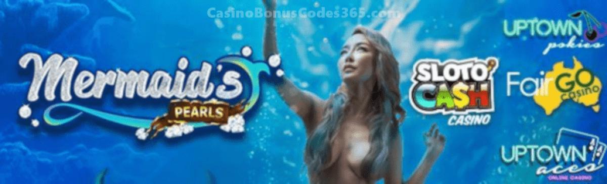 SlotoCash Casino, Uptown Aces, Uptown Pokies Fair Go Casino RTG Mermaids Pearls