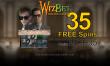 WizBet Online Casino Exclusive 35 FREE Spins on Saucify Monte Carlo Heist
