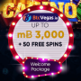 BtcVegas Casino 3 BTC plus 50 FREE Spins Welcome Package