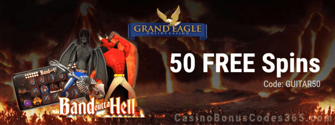 Grand Eagle Casino 50 Exclusive sAUCIFY Wolf Street FREE Spins Offer