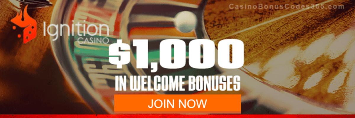 Ignition Casino $1000 Welcome Bonus
