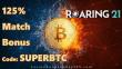 Roaring 21 125% Match Bonus Bitcoin Special Promo