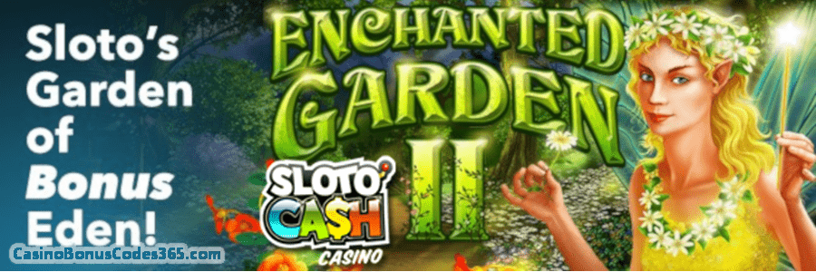Get 50 Free Spins for RTGs Enchanted Garden 2 Slot
