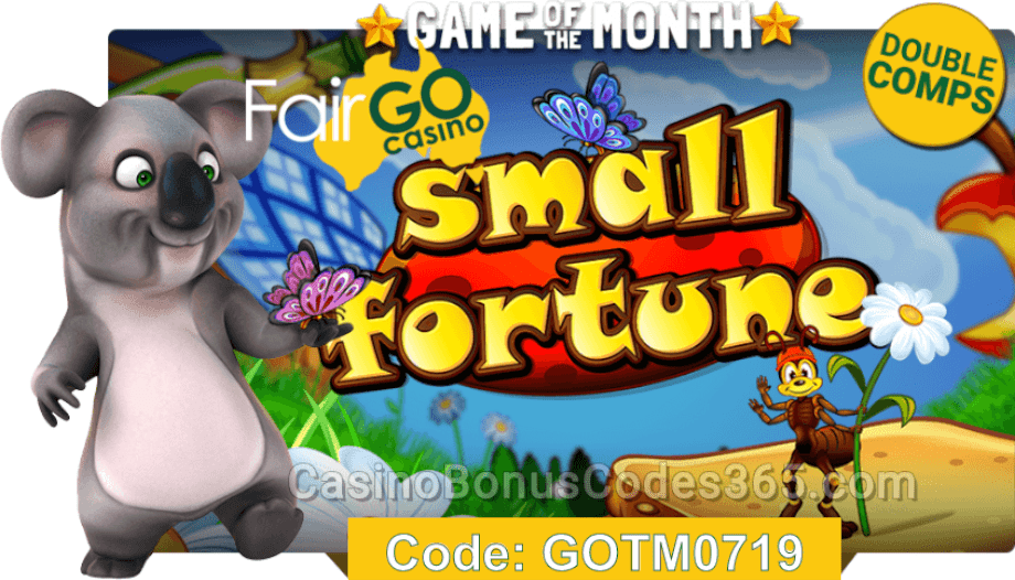 Fair Go Casino July Game of the Month RTG Small Fortune