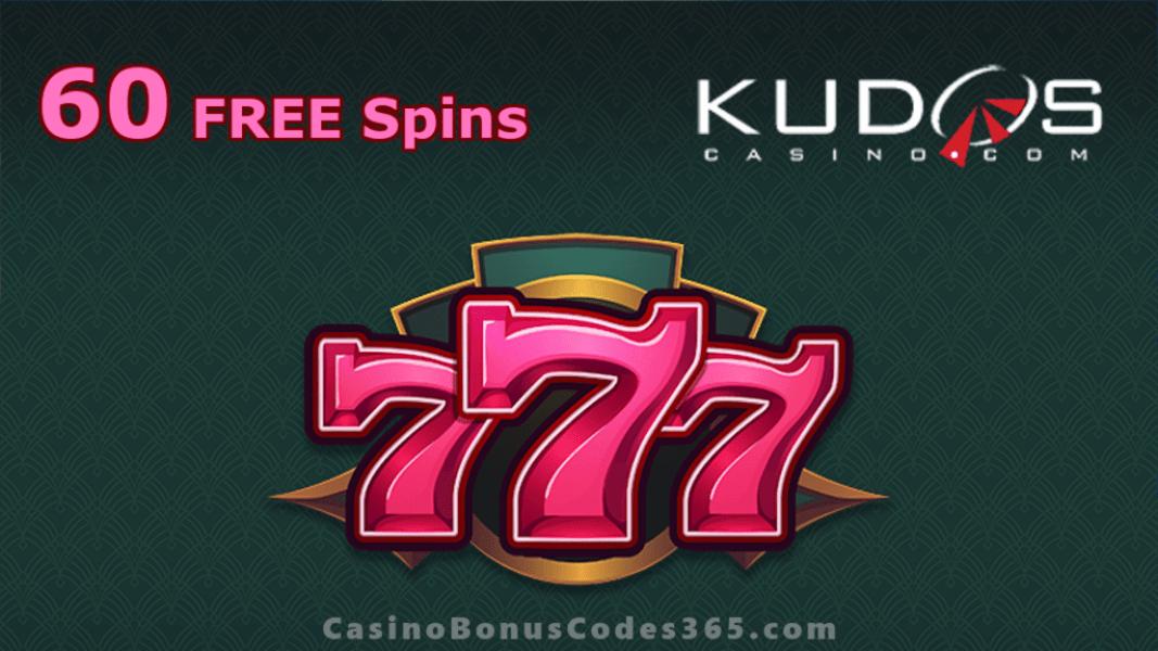 Kudos Casino New RTG Game 60 FREE RTG 777 Spins