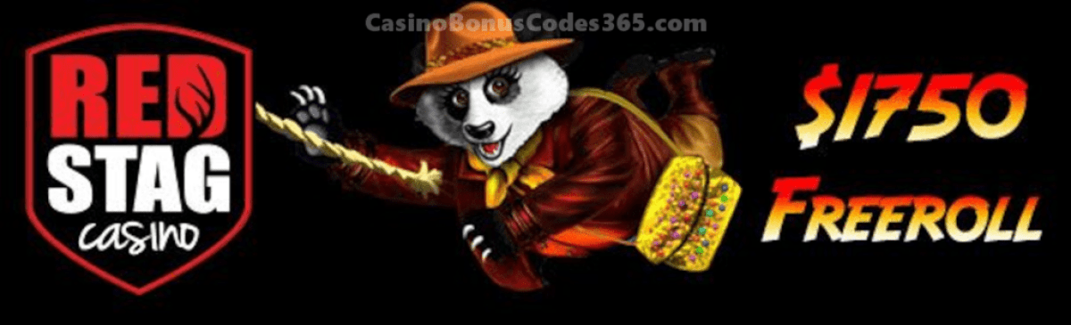 Red Stag Casino From Vegas to Macau $1750 FREEroll WGS Amanda Panda