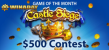 Win A Day Casino Castle Siege July Game of the Month Promo
