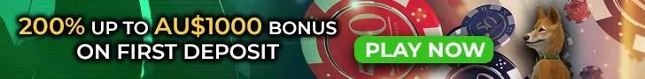 Casino Dingo 200% up to A$2000 First Deposit Bonus