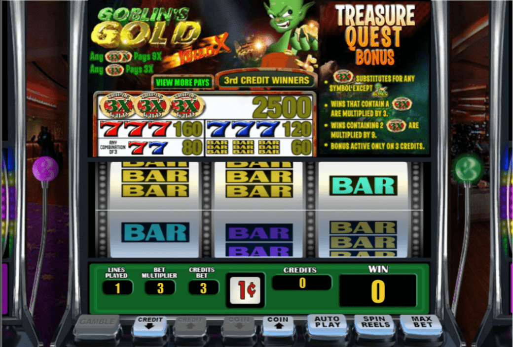Lincoln Casino 60 FREE Spins on WGS Goblin's Gold Special Offer