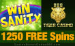 888 Tiger Casino 1250 FREE Rival Gaming Winsanity Spins