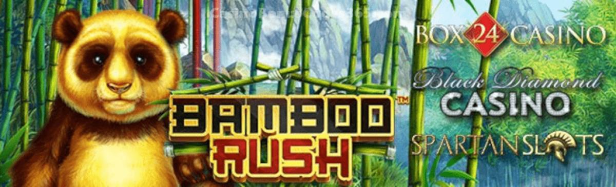 Black Diamond Casino, Box 24 Casino and Spartan Slots Bamboo Rush New Betsoft Game LIVE