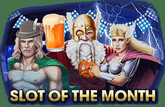 Intertops Casino Red RTG Asgard September Slot of the Month