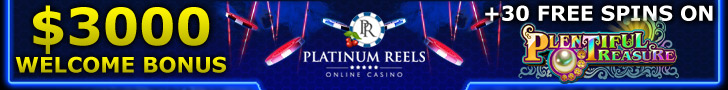 Platinum Reels $3000 Welcome Package