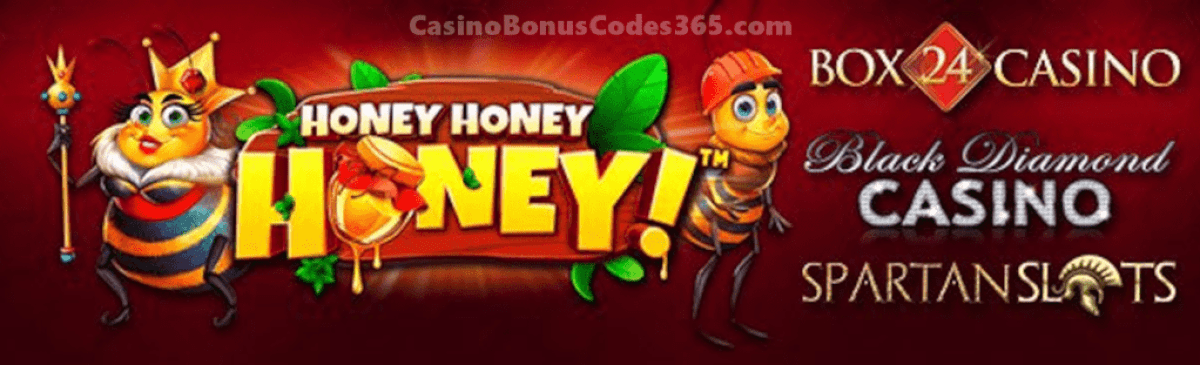 Black Diamond Casino, Box 24 Pragmatic Play Honey Honey Honey