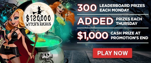 Intertops Casino Red $120000 Witch's Riches Tournament