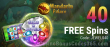 Mandarin Palace Online Casino 40 Exclusive FREE Saucify Gems N Jewels Spins No Deposit Offer