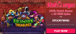 Slots of Vegas Halloween Treasures 250% Bonus plus 30 FREE Spins New RTG Game Offer