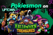 Uptown Pokies Halloween Treasures 131% Bonus plus 77 FREE Spins New RTG Game Special Offer