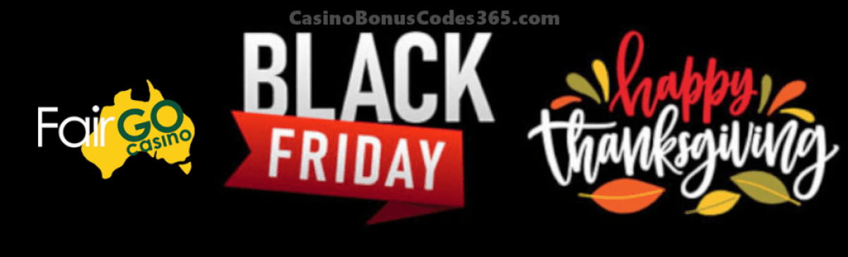 Fair Go Casino Black Friday Deal 2019