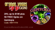 Grande Vegas Casino 25% up to $100 plus 50 FREE RTG Gemtopia Spins Monday Special Offer