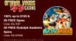 Grande Vegas Casino 150% Bonus plus 150 FREE RTG Rudolph Awakens Spins New Game Special Deal