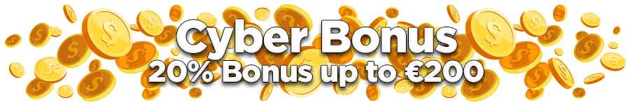 OmniSlots Cyber Monday Bonus 20% Match up to €200