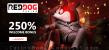 Red Dog Casino 250% Match Welcome Bonus