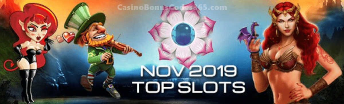 Top Slots in December 2019 by Spins