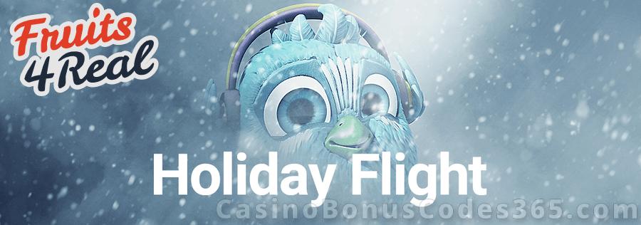 Fruits4Real Holiday Flight Bonus