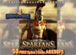 Grand Eagle Casino 50 FREE Spins on Saucify Age of Spartans Exclusive Promo