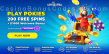 Spin Samba A$1000 Bonus plus 200 FREE Spins Welcome Pack RTG Aladdins Wishes