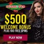 Vegas2Web Casino $500 Bonus plus 100 Massive Spins Welcome Package