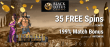 Black Lotus Casino 35 FREE Spins on Saucify Hercules: The 12 Labours plus 199% Match Welcome Bonus