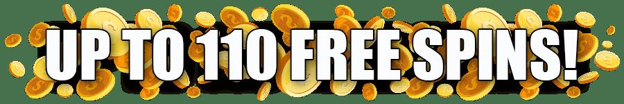 Omni Slots up to 110 FREE Spins Wild Weekend
