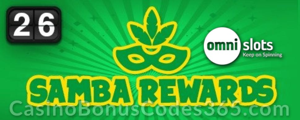 Omni Slots Samba Rewards Betsoft Carnaval Forever