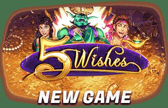 Slotastic Online Casino RTG 5 Wishes