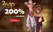 24VIP Casino 200% Match Bonus plus 50 FREE Rival Gaming Smoking Gun Spins Welcome Deal