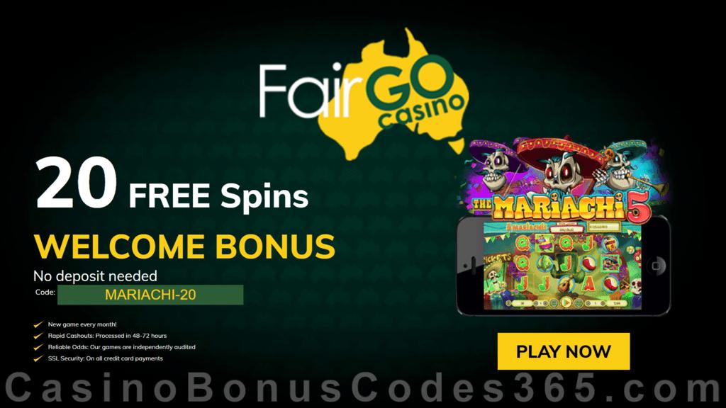 Fair Go Casino No Deposit 2020