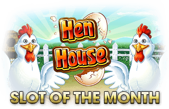 Intertops Casino Red RTG Hen House April Slot of the Month